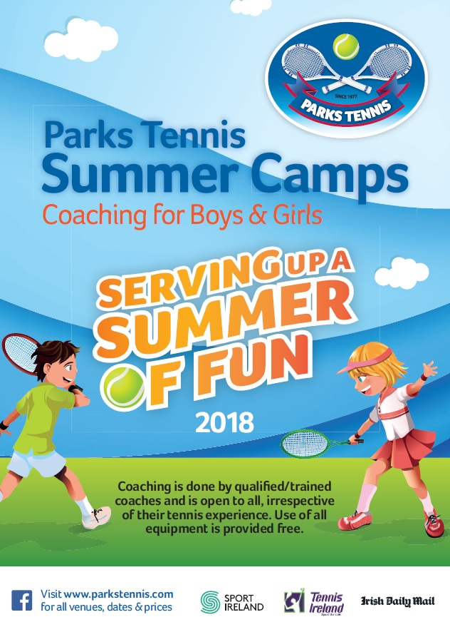 Junior Tennis Coaching in July