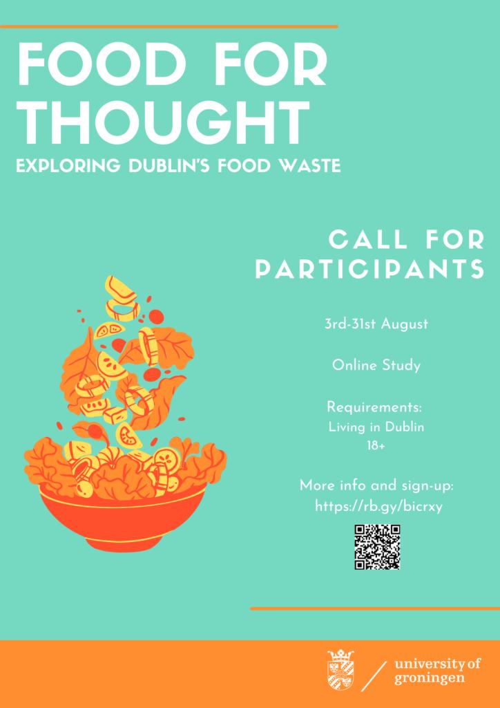 Food Waste survey flyer